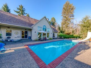 Lovely secluded home w/ private seasonal pool & large backyard!