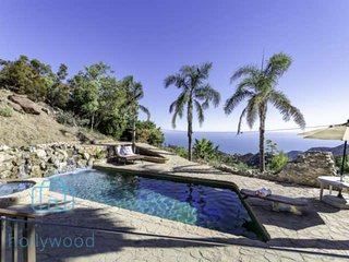 Malibu Moonrise Lodge - Secluded Compound Massive Ocean Views. Events Parties We
