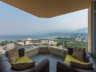 Sub-Penthouse across Okanagan Lake with full amenities