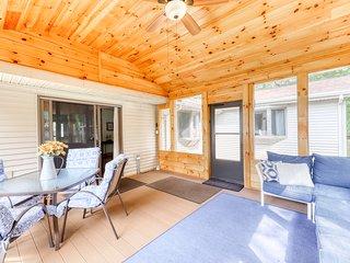 NEW LISTING! Dog-friendly home w/ great location near skiing & Lake Bomoseen!