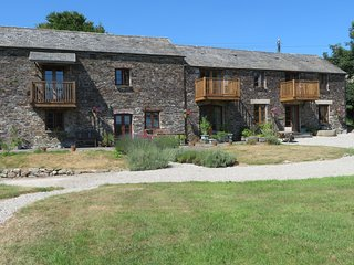 The Dairy, 3 bedroom cottage in a rural setting near Landrake in SE Cornwall.