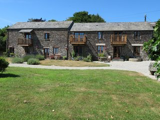 The Stable, 1 bedroom cottage in a rural setting near Landrake in SE Cornwall.