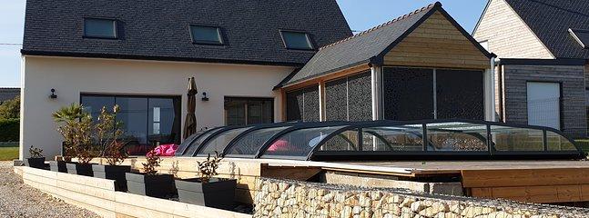 Piscine / Bretagne / Finistère Sud /  gîte  / maison de vacances / chambres / quimper / location