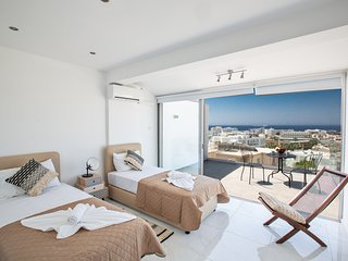 Rio Luxury Apartment with Panoramic Sea views, Ayia Napa center
