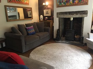The cosy lounge