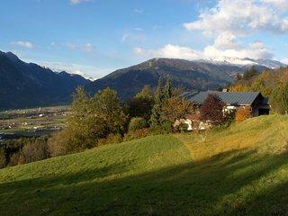 Ferienwohnung mit traumhafter Aussicht auf die Lienzer Dolomiten