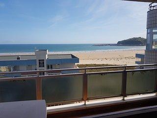 Excepcionales vistas de la playa