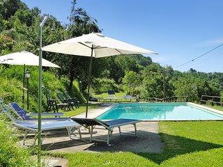 Vallecchia,  large sunny private pool, WIFI, mountain views.