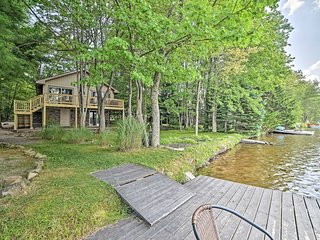 North Arrowhead Lake House w/ Deck & Grill!