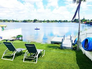 3/2 Lake House With Water Activities And Docking Area Near Hard Rock Casino