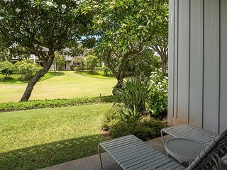 Tropical Poipu Bliss w/WiFi, Flat Screen, Ceiling Fan, Lanai+Kitchen–Kiahuna