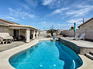 Lake Havasu City Home w/Pool & Boat Parking!