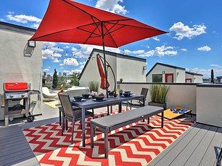 Denver Townhome w/ Rooftop Deck Near Downtown!