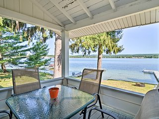 NEW! Petoskey Waterfront Cottage w/ Deck + Grill!