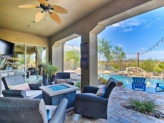 Luxury Phoenix Resort Home w/ Pool, Patio & Casita