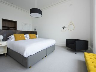 Simple but stylish, superior bedroom only accommodation