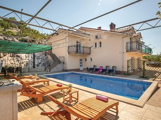 Beautiful home in Krstatice w/ WiFi, 1 Bedrooms and Outdoor swimming pool