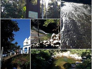 Casa Rustica proxima a cachoeira do Toboga