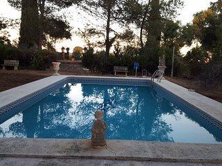 Bungalow Navasola: 'Jardines, piscina, chimenea... recuerdos de por vida'