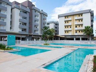 Varanda gourmet, ar condicionado e piscinas Apartamento 2 quartos - Ubatuba