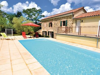 Amazing home in Gagnieres w/ WiFi, Outdoor swimming pool and 4 Bedrooms