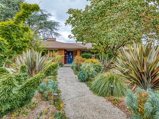 New listing! Dog-friendly, mid-century modern home w/ private sauna & gym