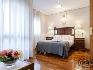 Charming Arguelles - Free parking, AC, in the center of the city.