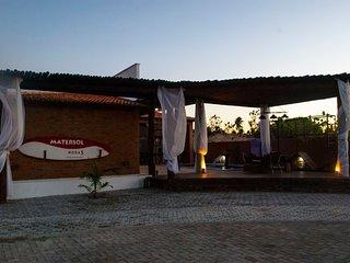 Suíte na casa Matersol em São Miguel do Gostoso NAT-SM.QuartoMatersol/Deborah