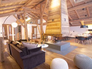 Magazine featured chalet - Chamonix Valley