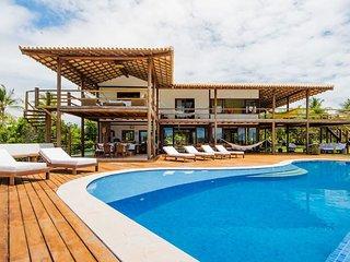 6 suites, piscina privada-Praias Outeiro/Espelho