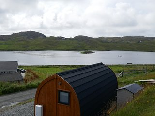 Glamping Pod 'Heron's View' Carloway, West Side of Lewis