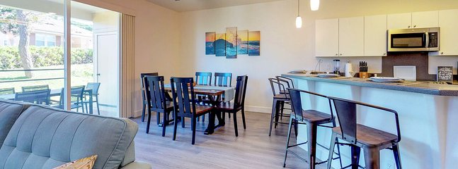Open Concept Kitchen and Dining in our Ko Olina Vacation Rental
