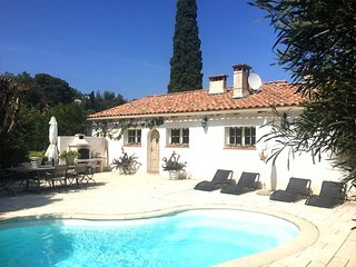 38185 cosy villa with pool and sea view, 2 bedrooms, 250 mt. from the sea