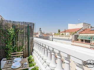 Charming Puerta del Sol Terrace I - Penthouse with terrace in the Puerta del Sol