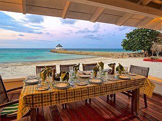 Kayaks, On Private Beach, Free Chef & Housekeeper, 6 Beds, 4 Bdrms, (RJC20)