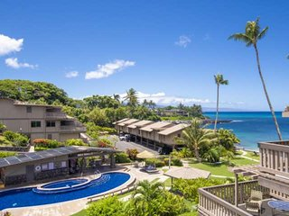 Two Lanais + Sandy Beach of Keoni Nu'i + Beautiful Views!