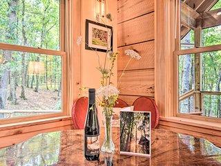 Romantic Asheville Area Cabin w/ Deck & Hot Tub!