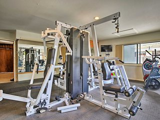 No need for a gym membership when you have one right at this property!