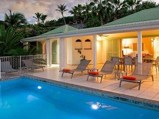 Villa La Sarabande   Ocean View - Located in Magnificent Orient Bay with Privat
