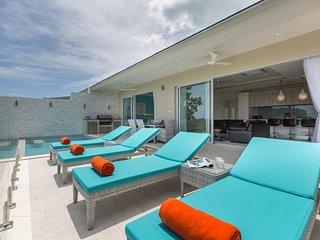 'Villa Ambiance'  Brand New  Sea View Villa