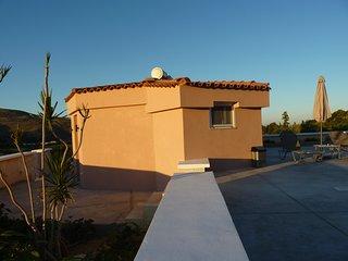 Almyros Studio 3 with lake and sea views