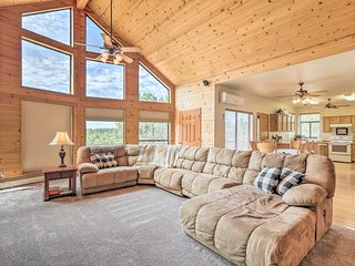 NEW! Secluded Heber Cabin w/ Valley Views & Deck!