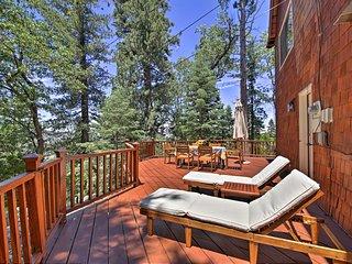 NEW! Lake Arrowhead Cabin w/ Deck & Lake Views!