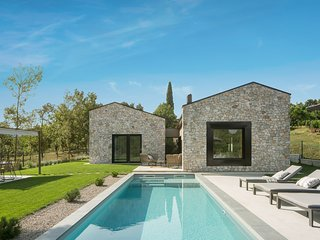 Beautiful Villa Ulmus, in Istria, with a Pool
