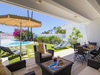 Villa in Pasito Blanco, 8pax, BBQ, POOL, WIFI