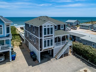 Ocean Paradise South | Oceanfront | Private Pool, Hot Tub, Dog Friendly | Nags H
