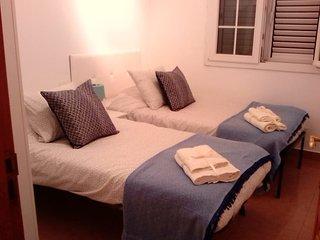 Habitación juvenil para dos personas, acogedora