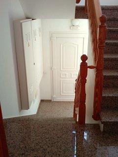 Entrada de la vivienda desde la puerta de la casa