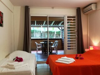 Studio Heliconia a la Residence Macabou - Piscine et Plage