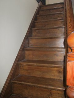 Stairs to bedrooms.r